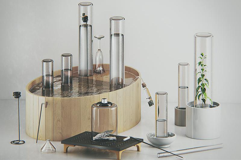 Chemical Apparatus Joseph Priestley Beautiful Chemistry Beautiful Reactions