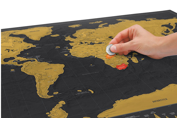 Deluxe Map Scratching