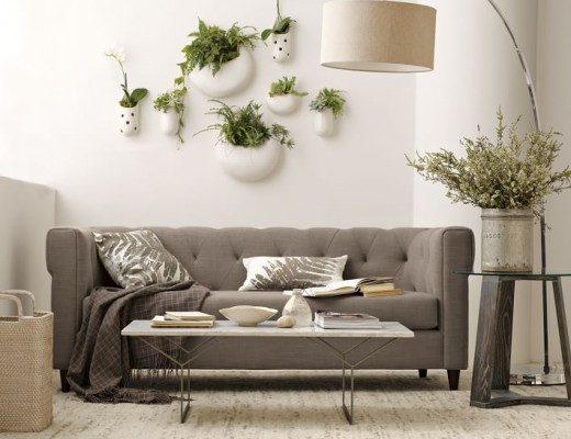 Shane Powers West Elm ceramic wall planters