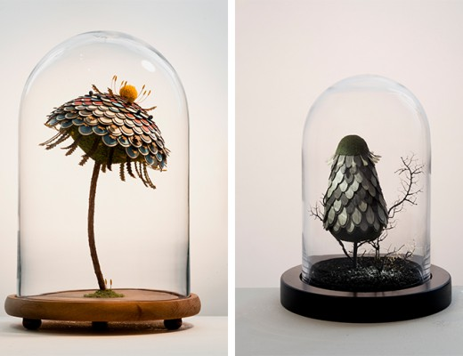 Miun Flower Sculptures