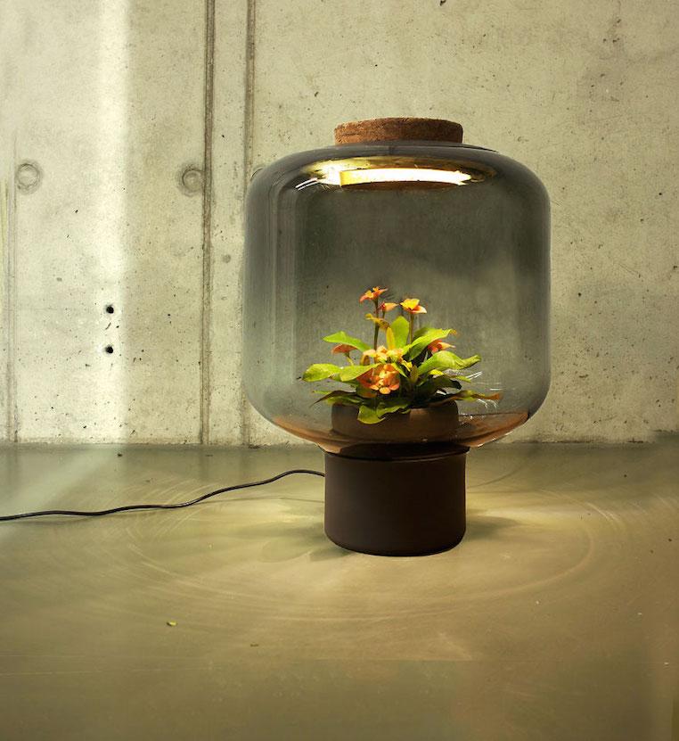 Nui Studio Mygdal Plant Lamp Floor