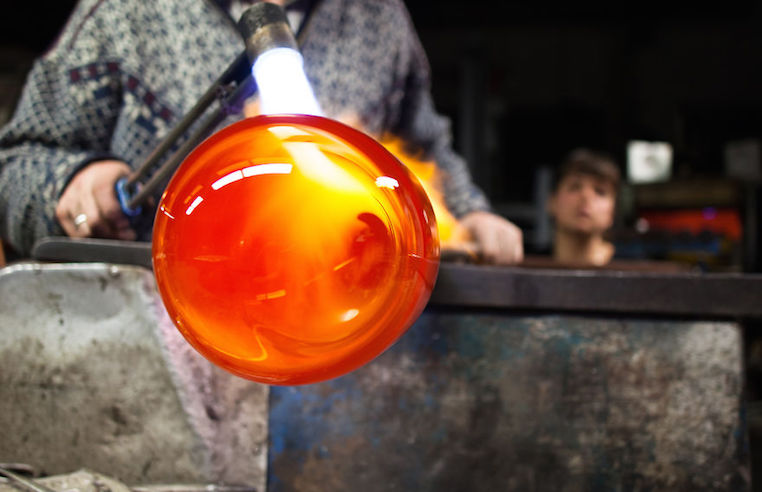 Nui Studio Mygdal Plant Lamp Glass Blowing