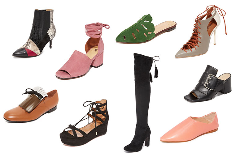 Shopbop shoes Milk and flowers 2017
