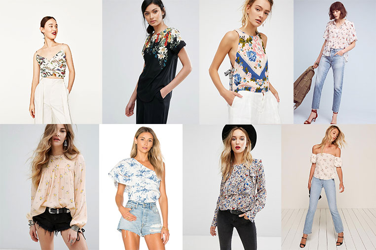Floral Tops for Spring