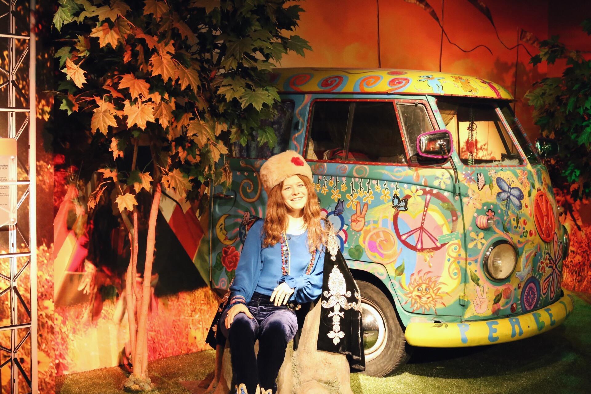 Madame Tussauds Janis Joplin