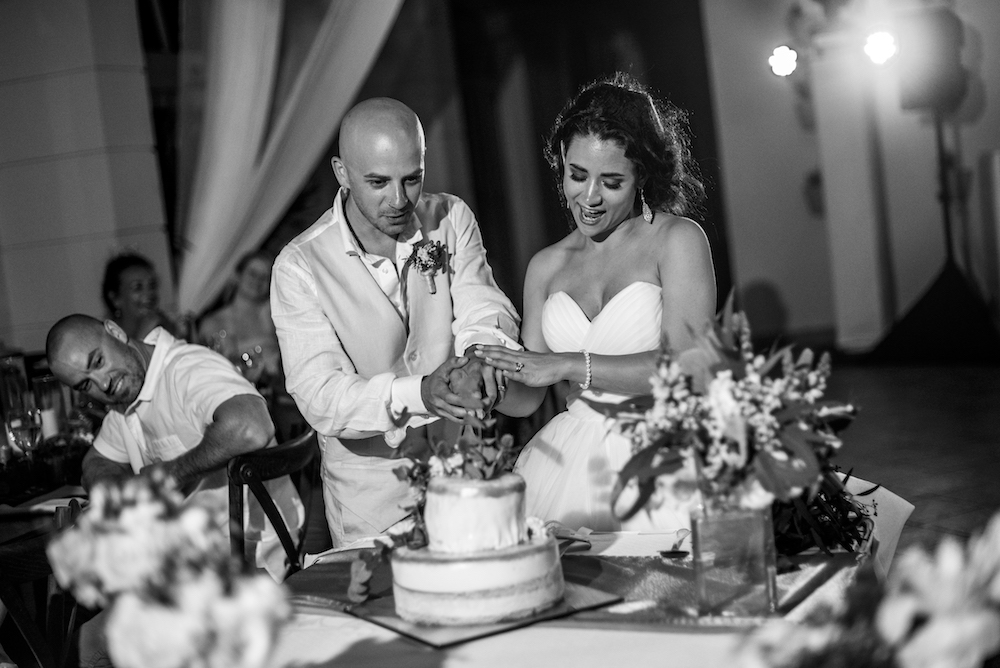 Miragliotta Wedding 2017 Cake Cut