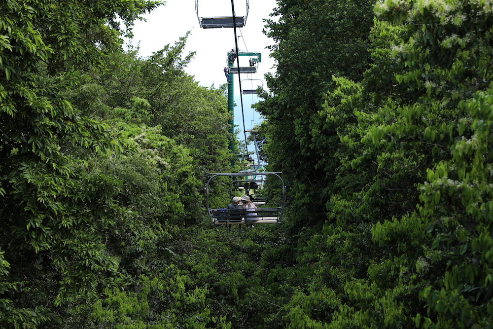 Ocho Rios Bobsled Lift