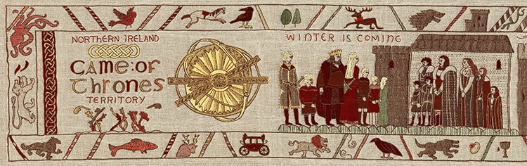 Game of Thrones Tapestry Opening