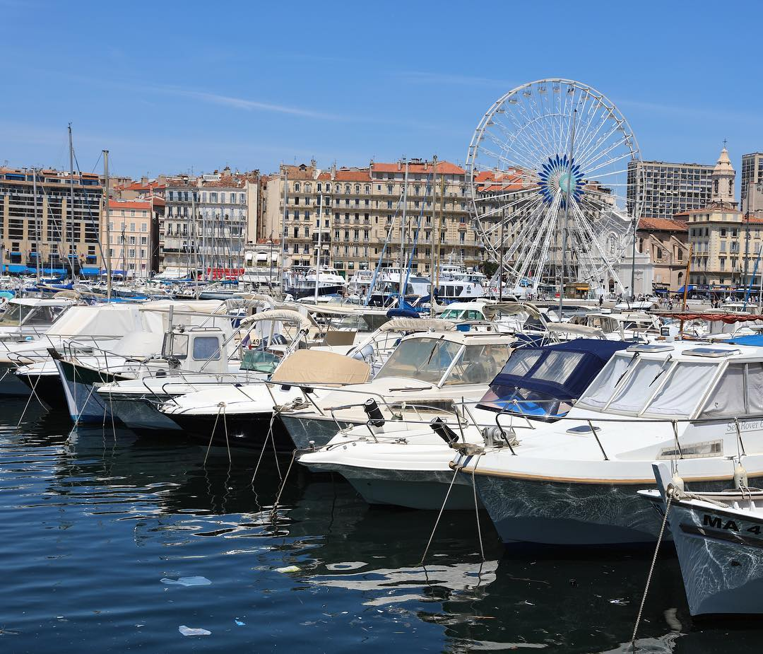Marseille Old Port Boats