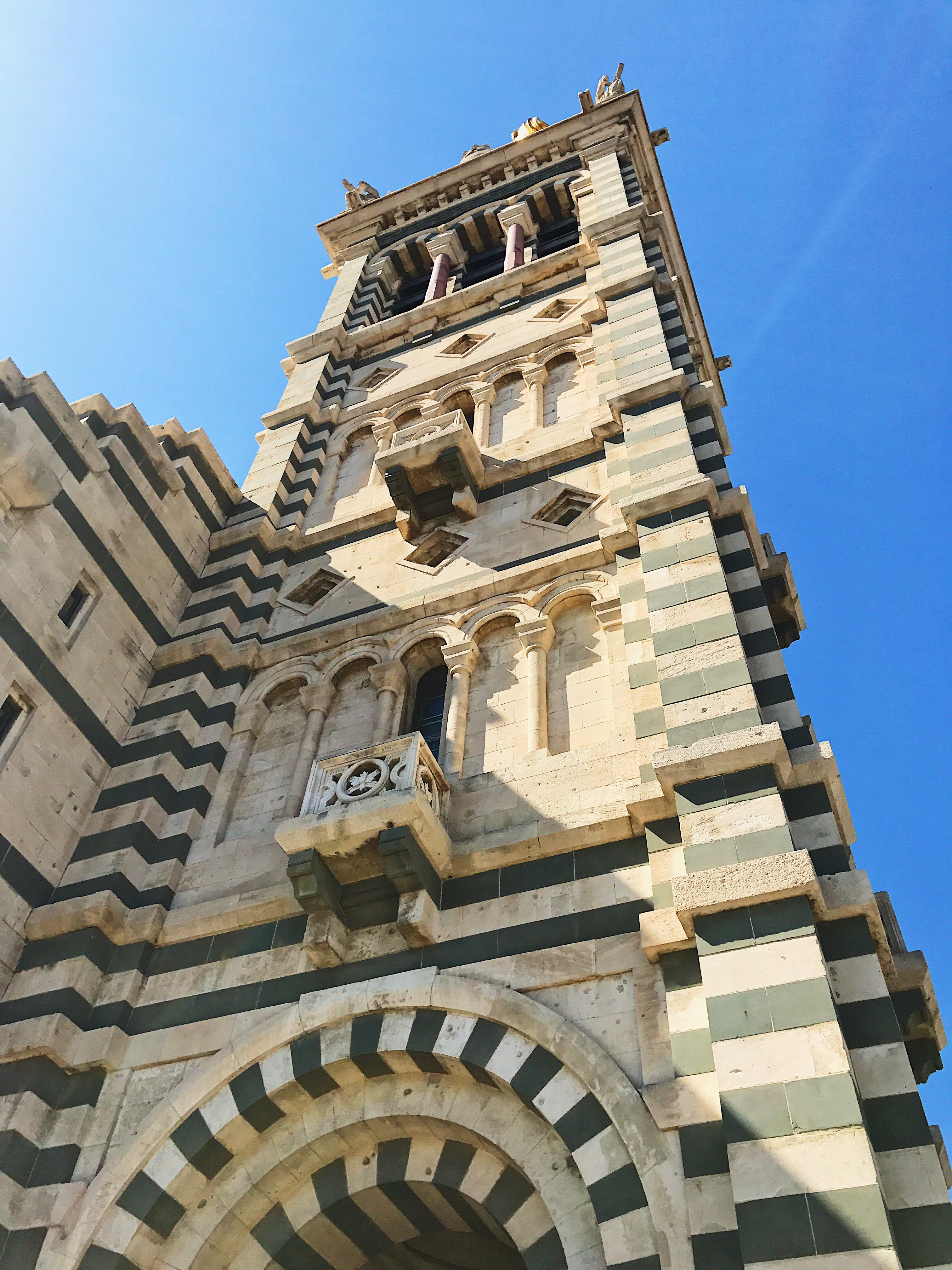 Notre Dame de la Garde Marseille Tower