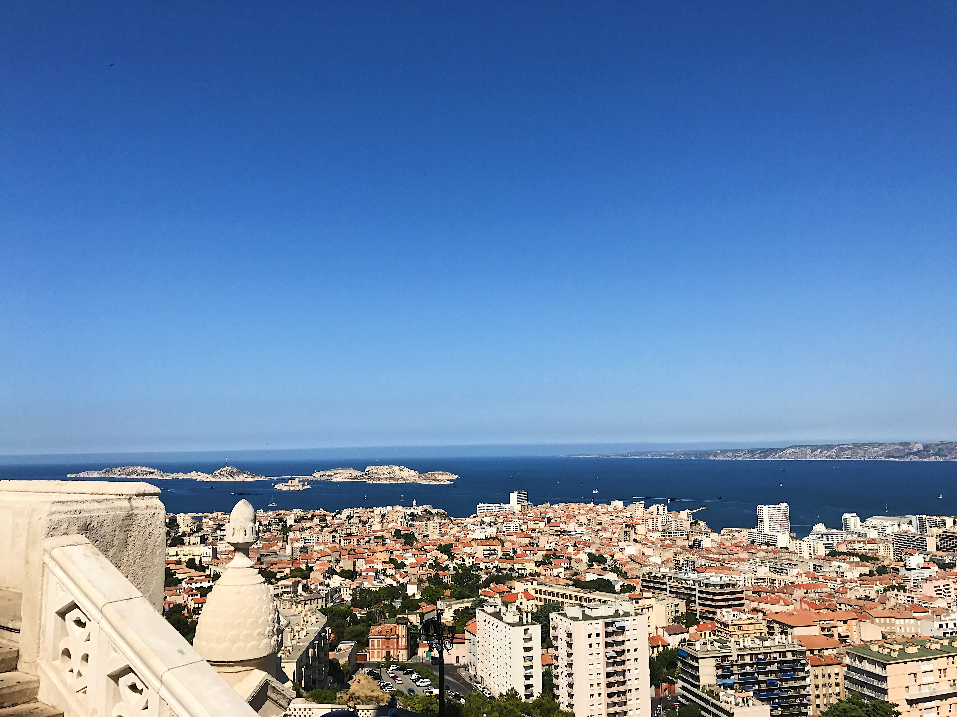 Notre Dame de la Garde Marseille View