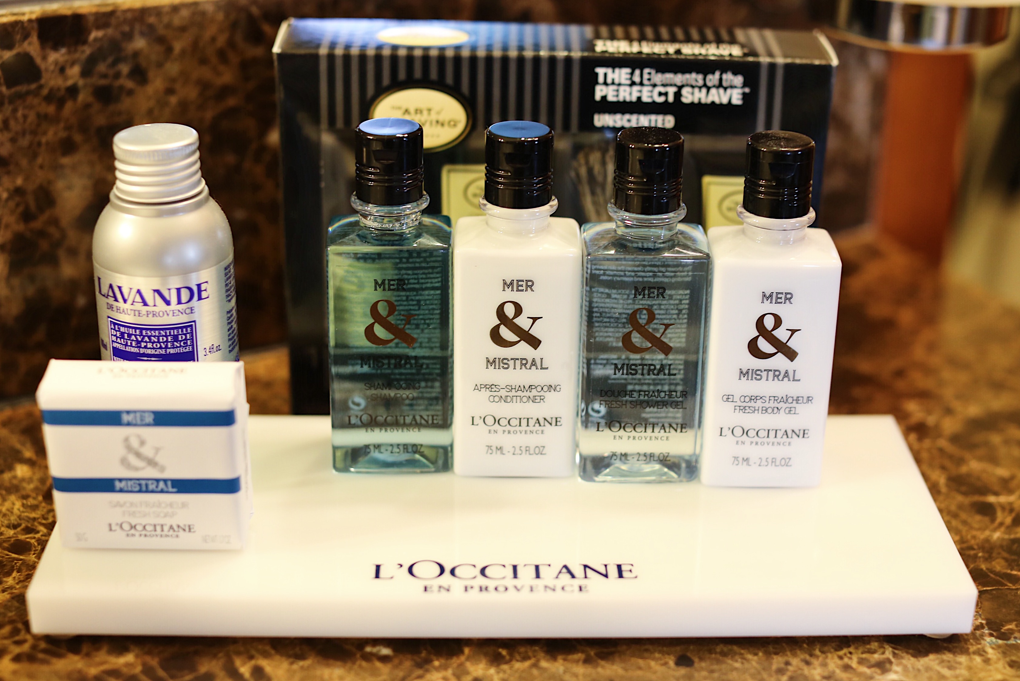 Regent Seven Seas Voyager Bath Amenities