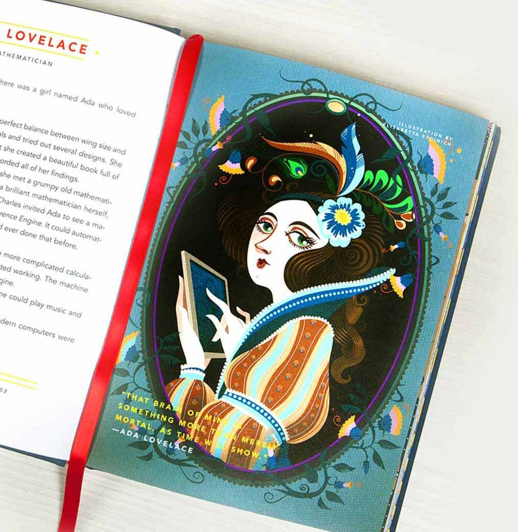 Goodnight Stories for Rebel Girls Ada Lovelace