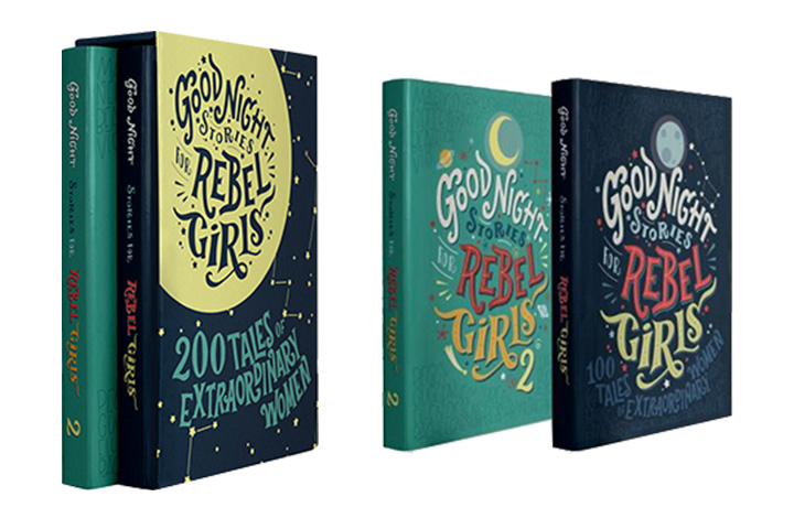 Goodnight Stories for Rebel Girls Boxed 1 2