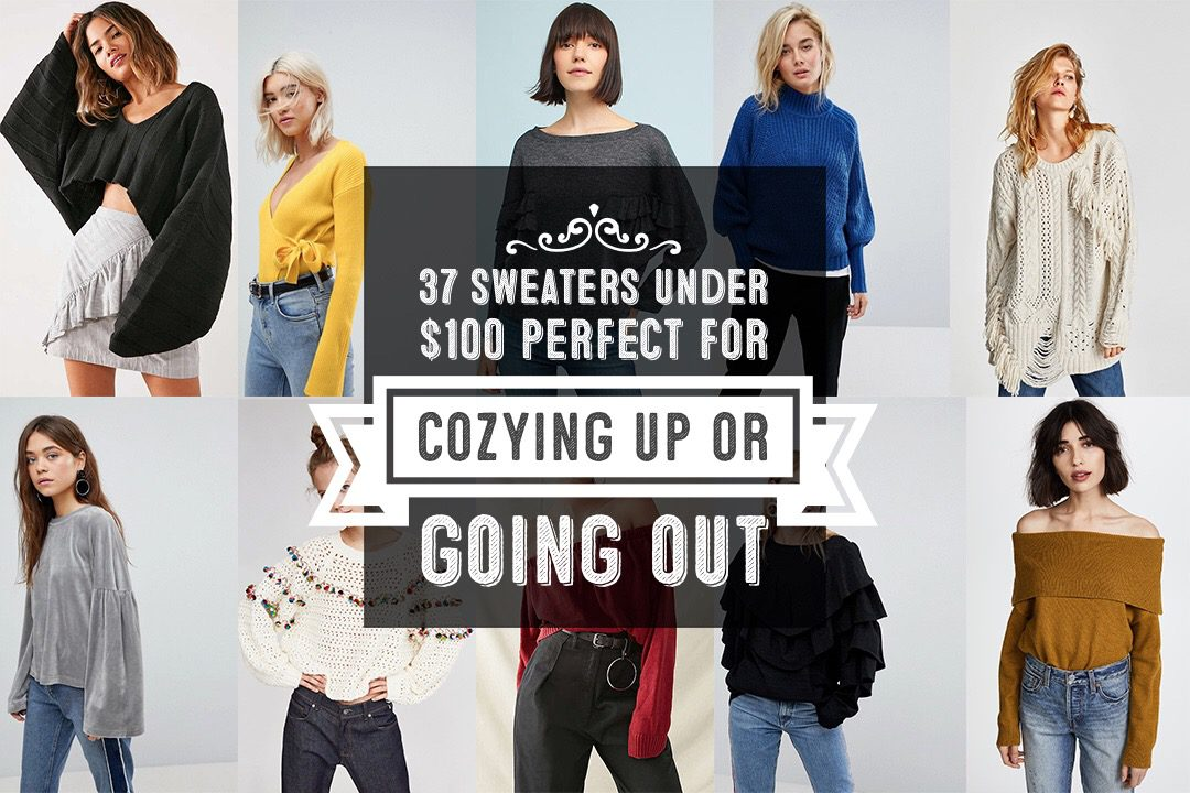 2017 Women Sweater Roundup