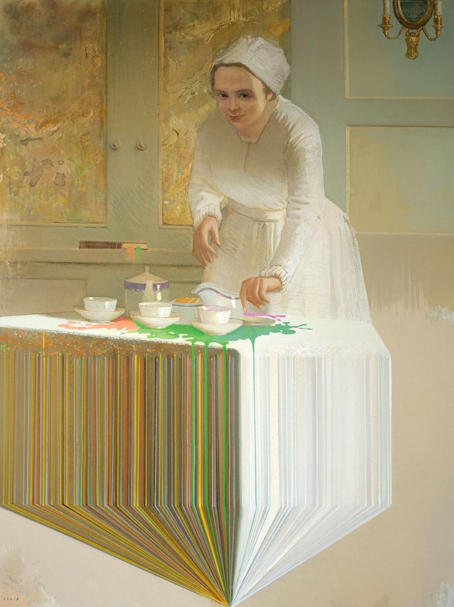 Acid Nanny oil on canvas - Igor Gusev