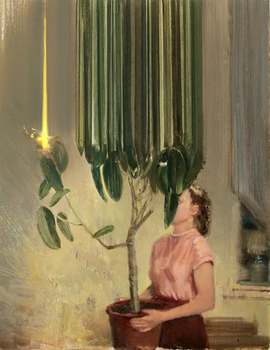 Evening Ritual oil on canvas - Igor Gusev
