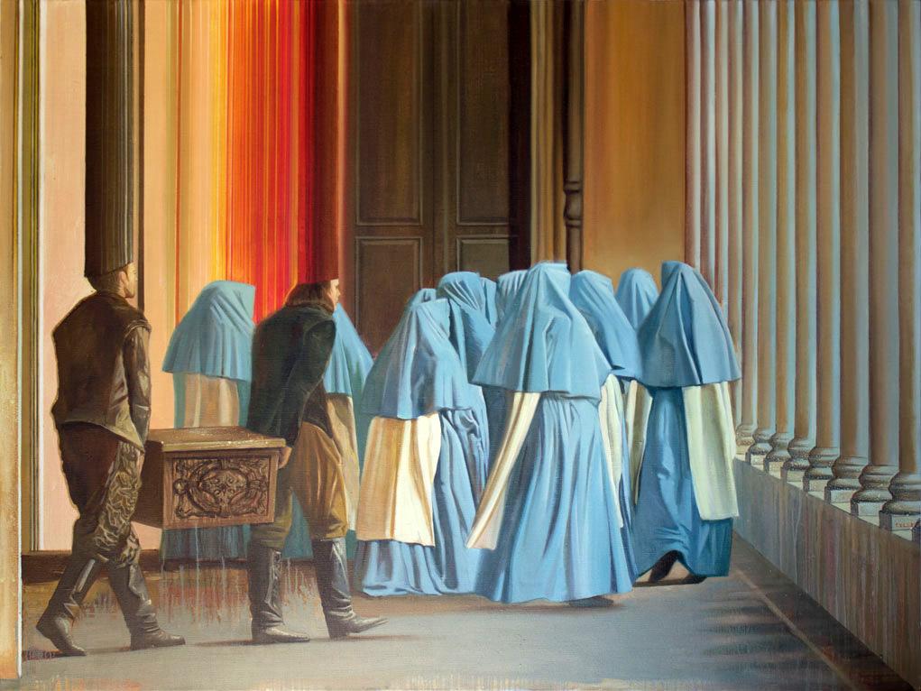 Les Miserables oil on canvas - Igor Gusev