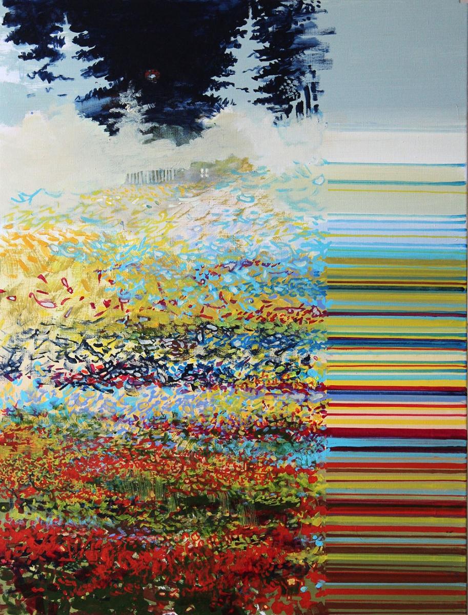 Quantum Fan oil on canvas - Igor Gusev