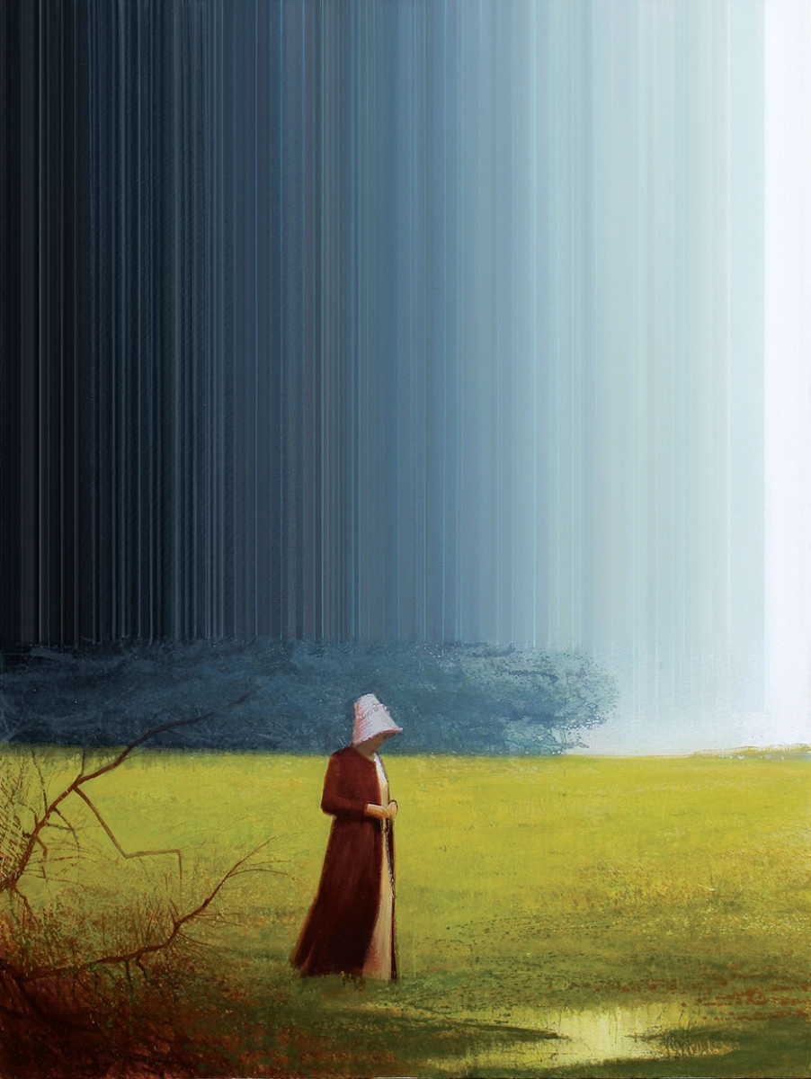 Rustle oil on canvas - Igor Gusev