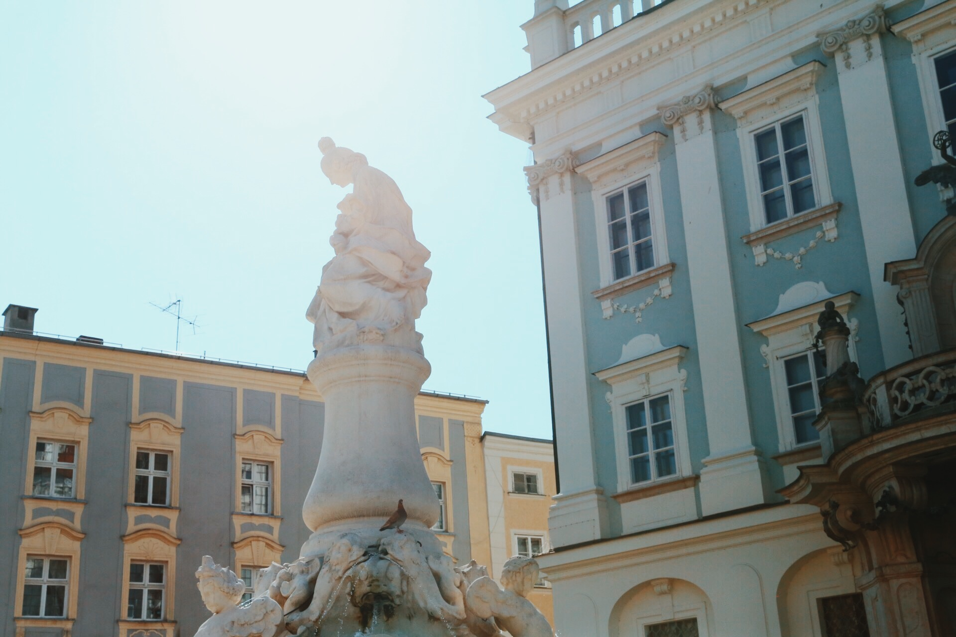 Wittelsbach Fountain in Passau