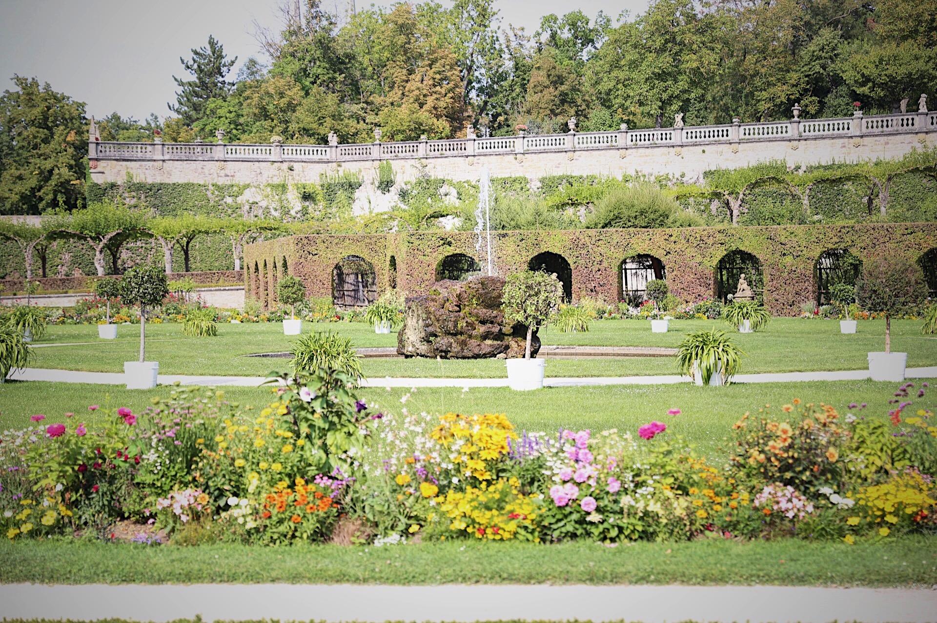 Wurzburg Residenz Gardens