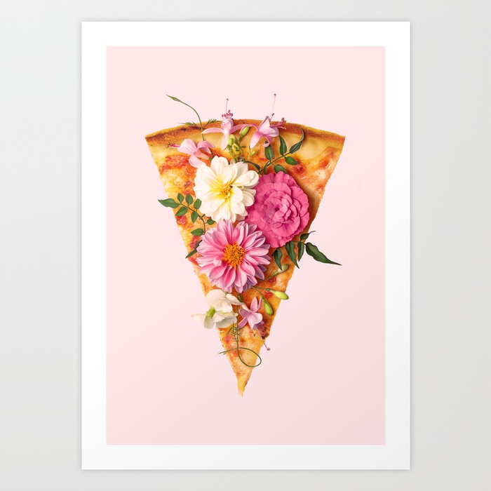 Paul Fuentes Floral Pizza
