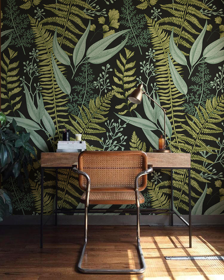 Betapet Botanical Ferns Wallpaper