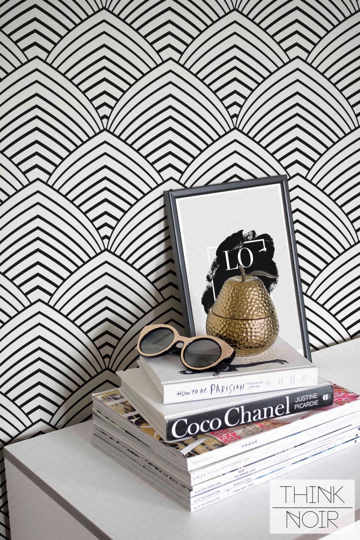 ThinkNoirWallpaper Minimalistic Geometric Wallpaper