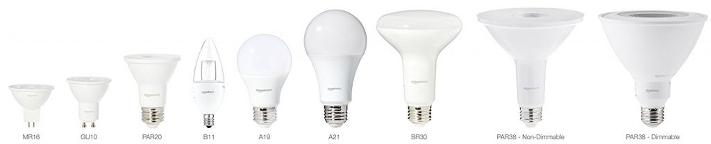 Amazon Basics LED Lightbulbs