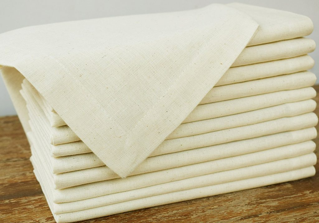 Flax Cotton Designer Dinner Napkins