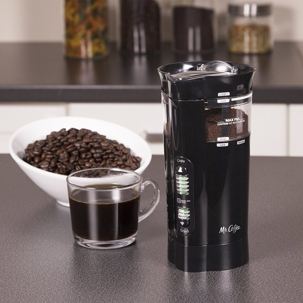 Mr. Coffee 12 Cup Electric Coffee Grinder with Multi Settings