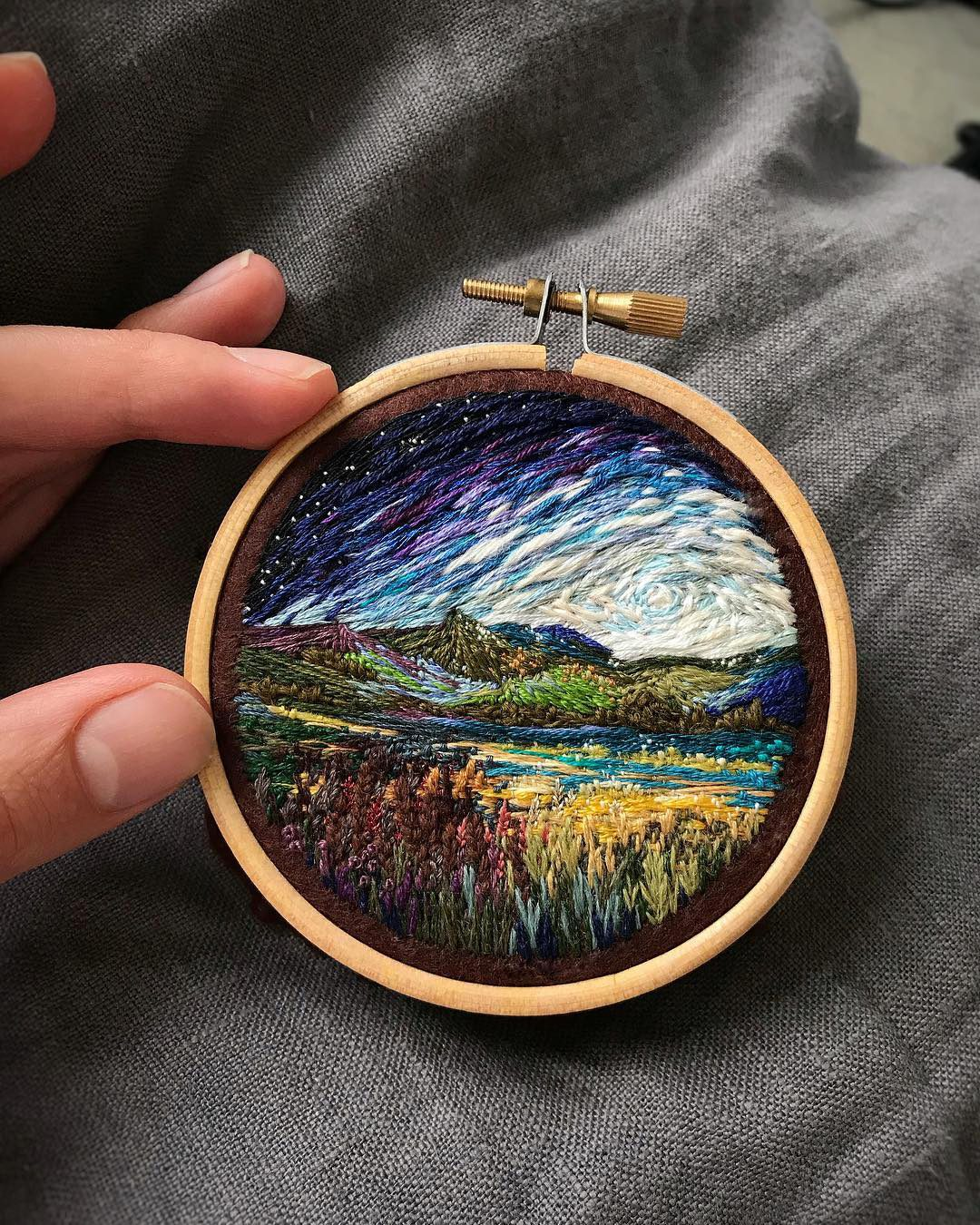 Vera Shimunia Cross Stitching Milkyway