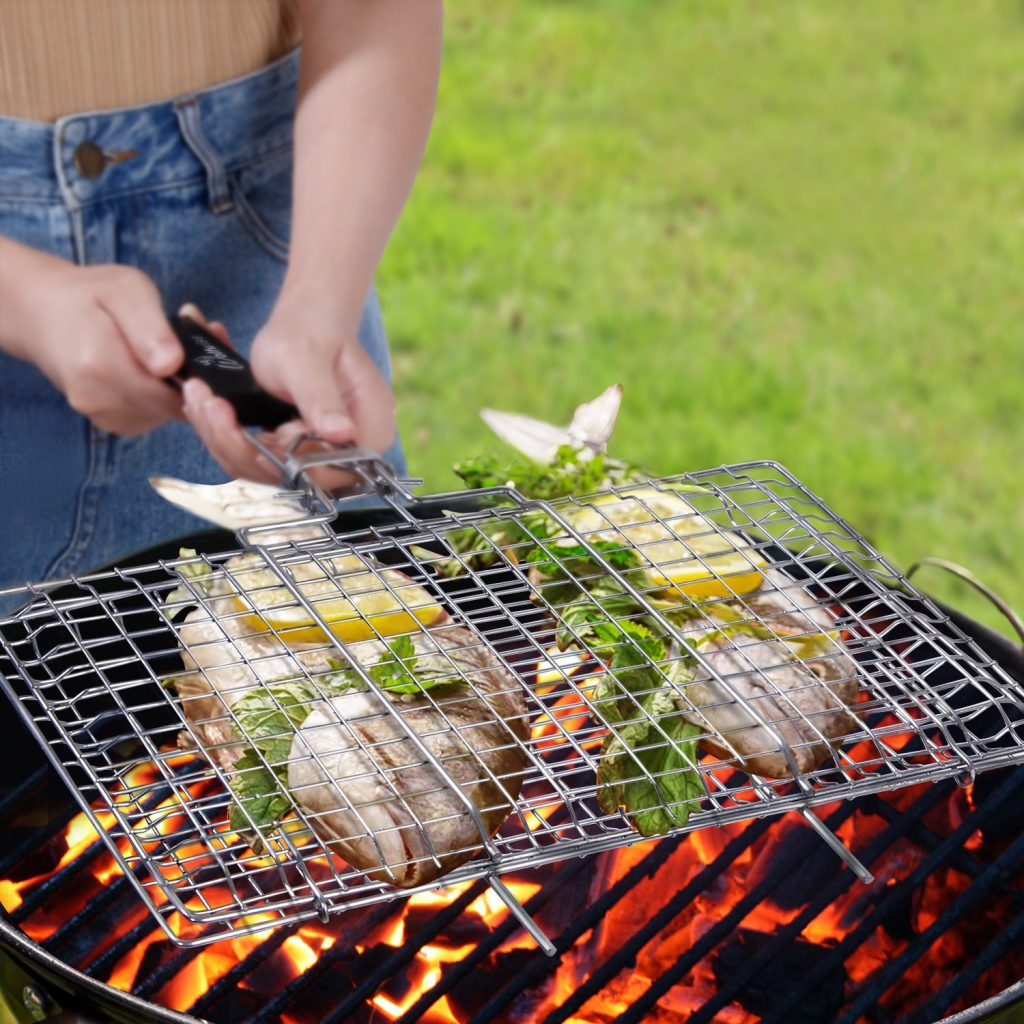 WolfWise Portable BBQ Grilling Basket