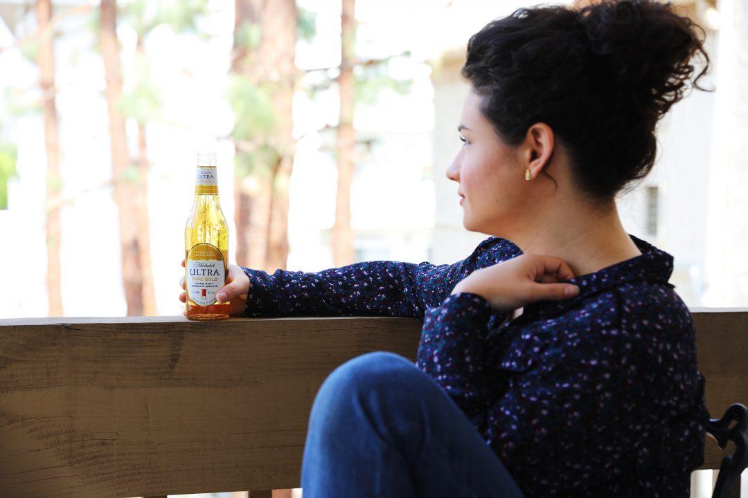 Sarah Militello Michelob Ultra Pure Gold Bottle