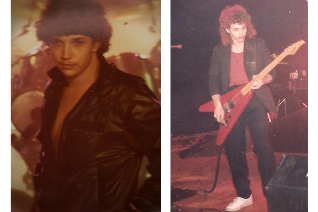 Dad was a rockstar