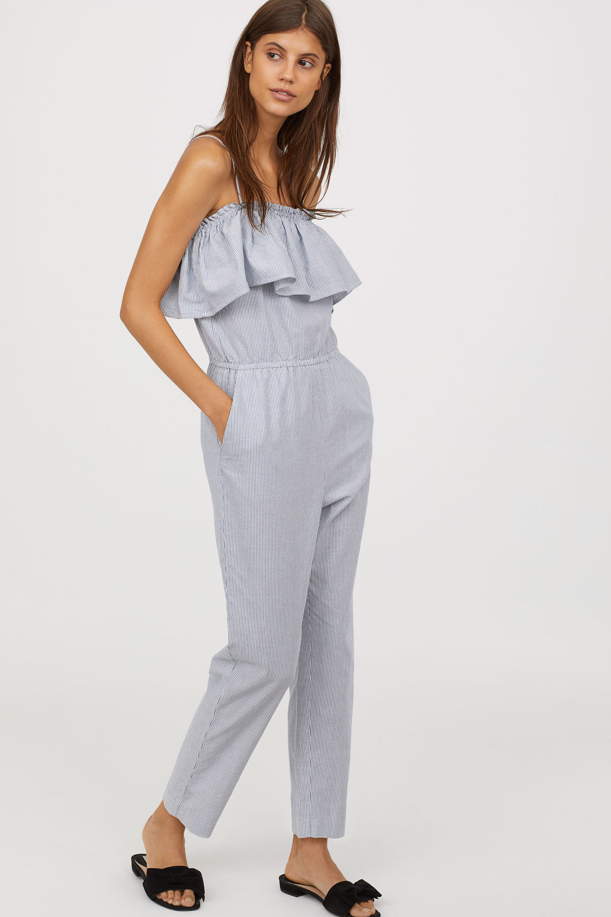 HM Off-the-shoulder Jumpsuit