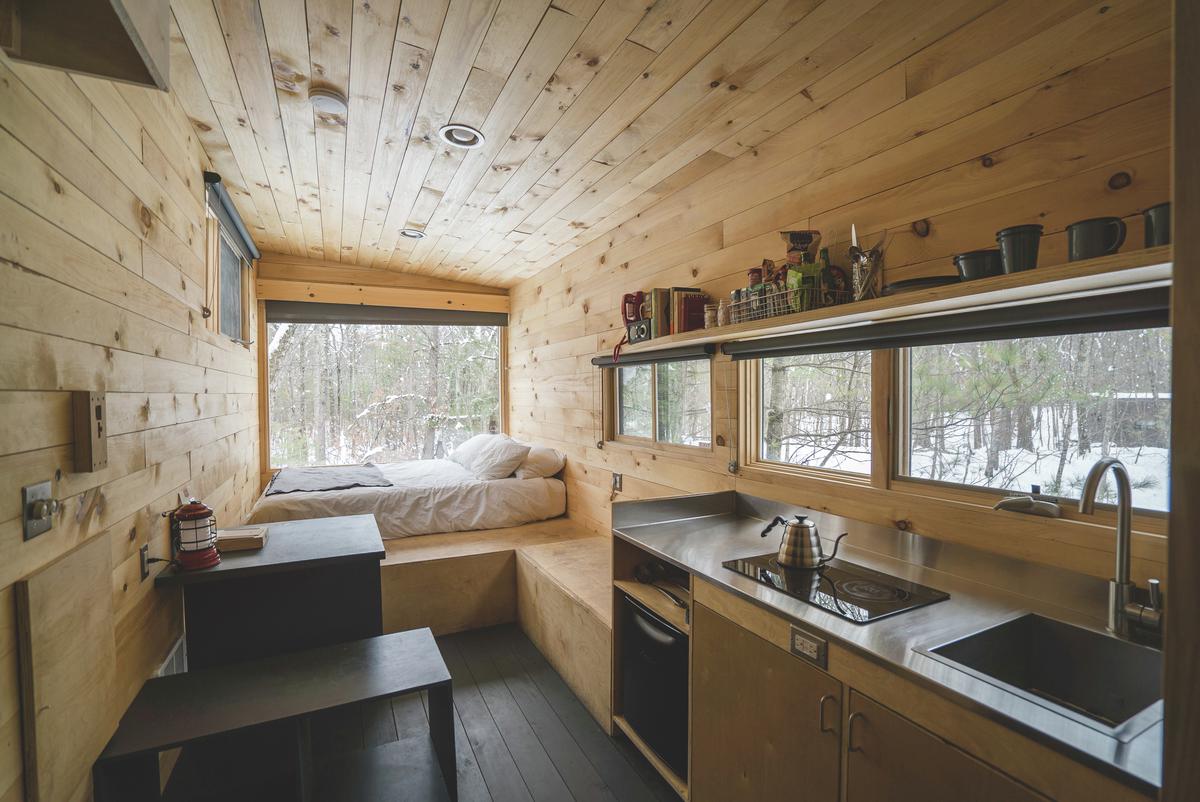 Getaway Cabin Interior